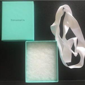 Authentic Tiffany & Co Box, cotton insert …